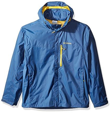 Columbia Men s Pouration Waterproof Rain Jacket  Amazon.in  Sports ... 169230639e
