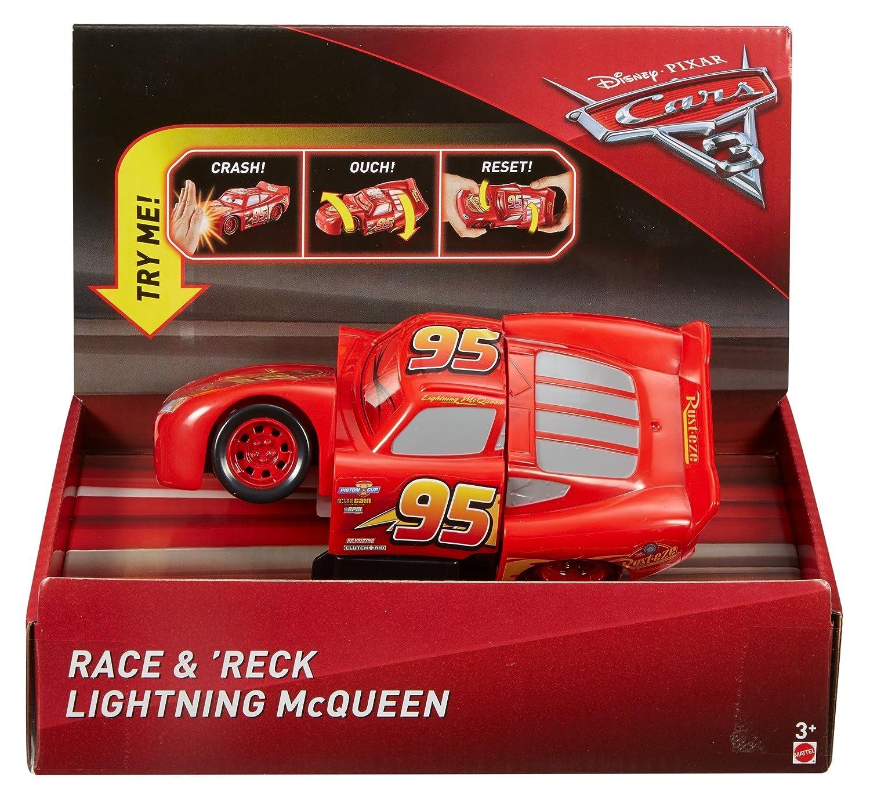 Disney Pixar Cars 3 Race & 'Reck Lightning McQueen Vehicle