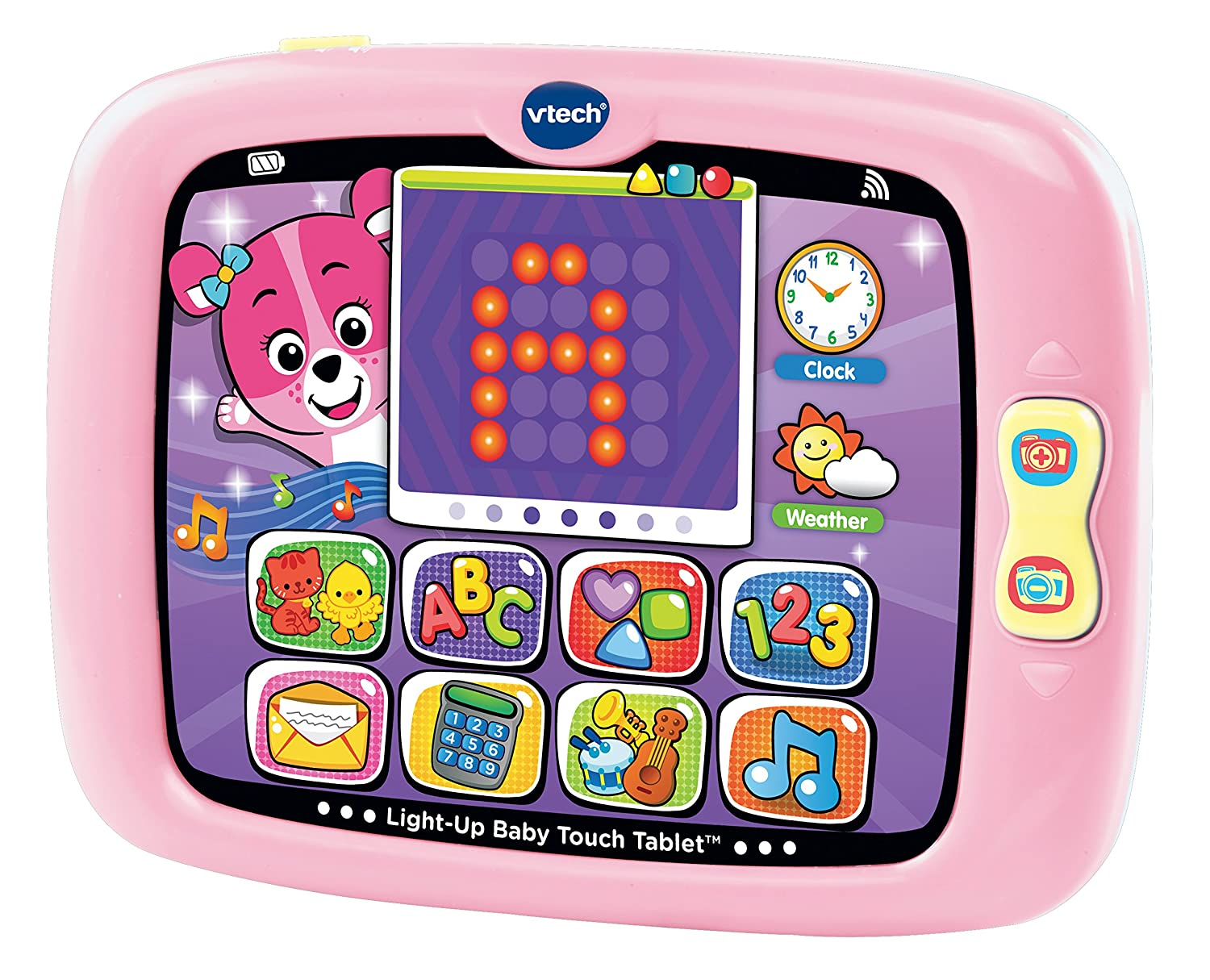 VTech Light-Up Baby Touch Tablet Pink (Frustration Free Packaging)