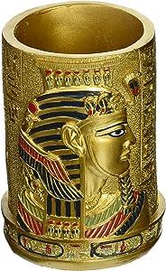 Design Toscano QL1244 Egyptian Pharaoh Pen Vessel,full color