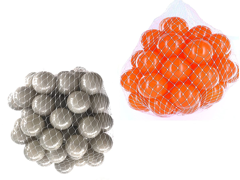 Palline per palline da bagno assortiti Mix con Arancione e Grigio