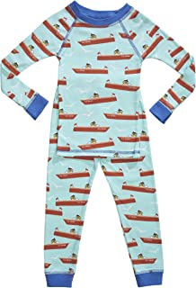 product image for Brian the Pekingese Boys Sleepwear 100% Organic Cotton Pajamas Made in USA Sizes 18M to 10 Years