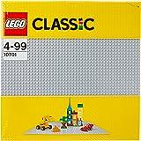LEGO - 10701 - Classic - Jeu de Construction - La Plaque de Base Grise