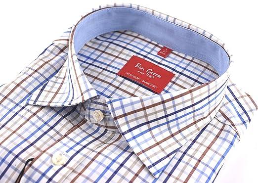 wholesale dealer 7611a b804d Ben Green Herren Hemd Oberhemd Businesshemd Freizeithemd ...
