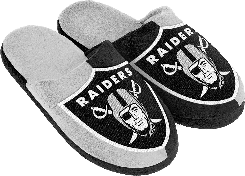 Oakland Raiders 2015 Sneaker Slipper Extra Large