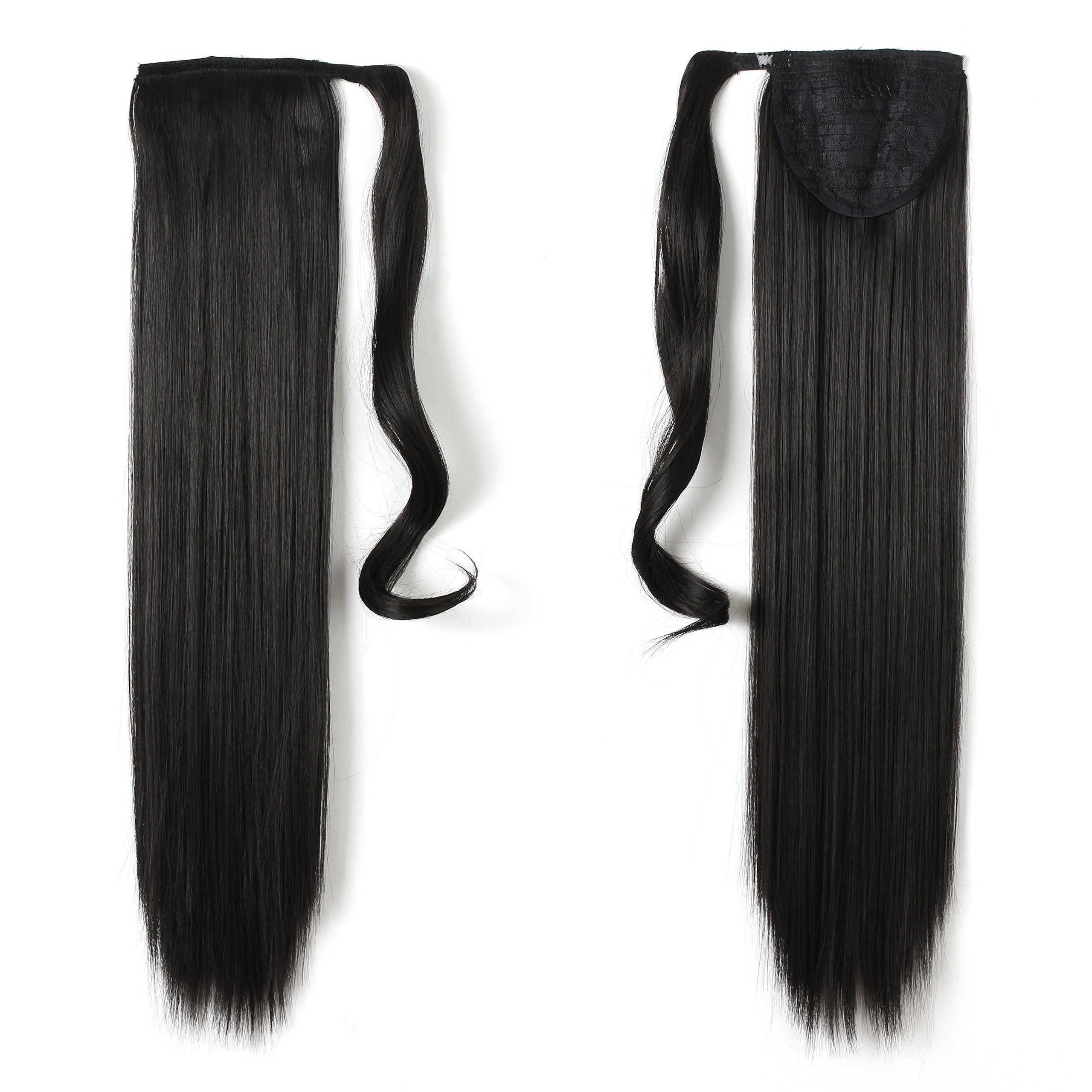 Amazon Onedor 24 Straight Wrap Around Ponytail Extension For