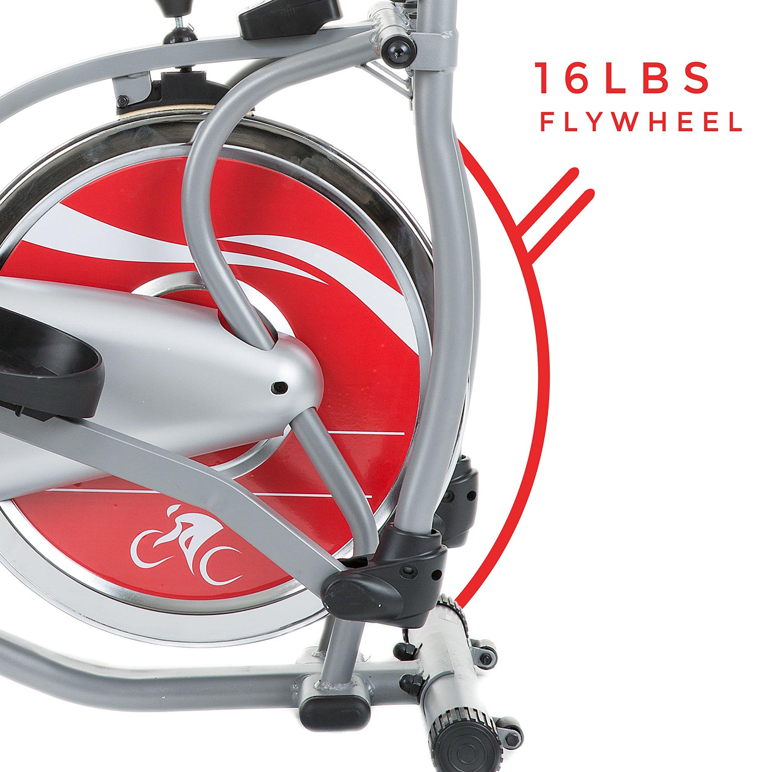 Sunny Health & Fitness SF-E1405 Flywheel Elliptical Trainer, Gray by Sunny Health & Fitness (Image #8)