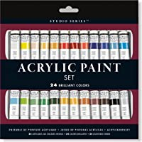 Studio Series Acrylic Paint Set (24 colors)