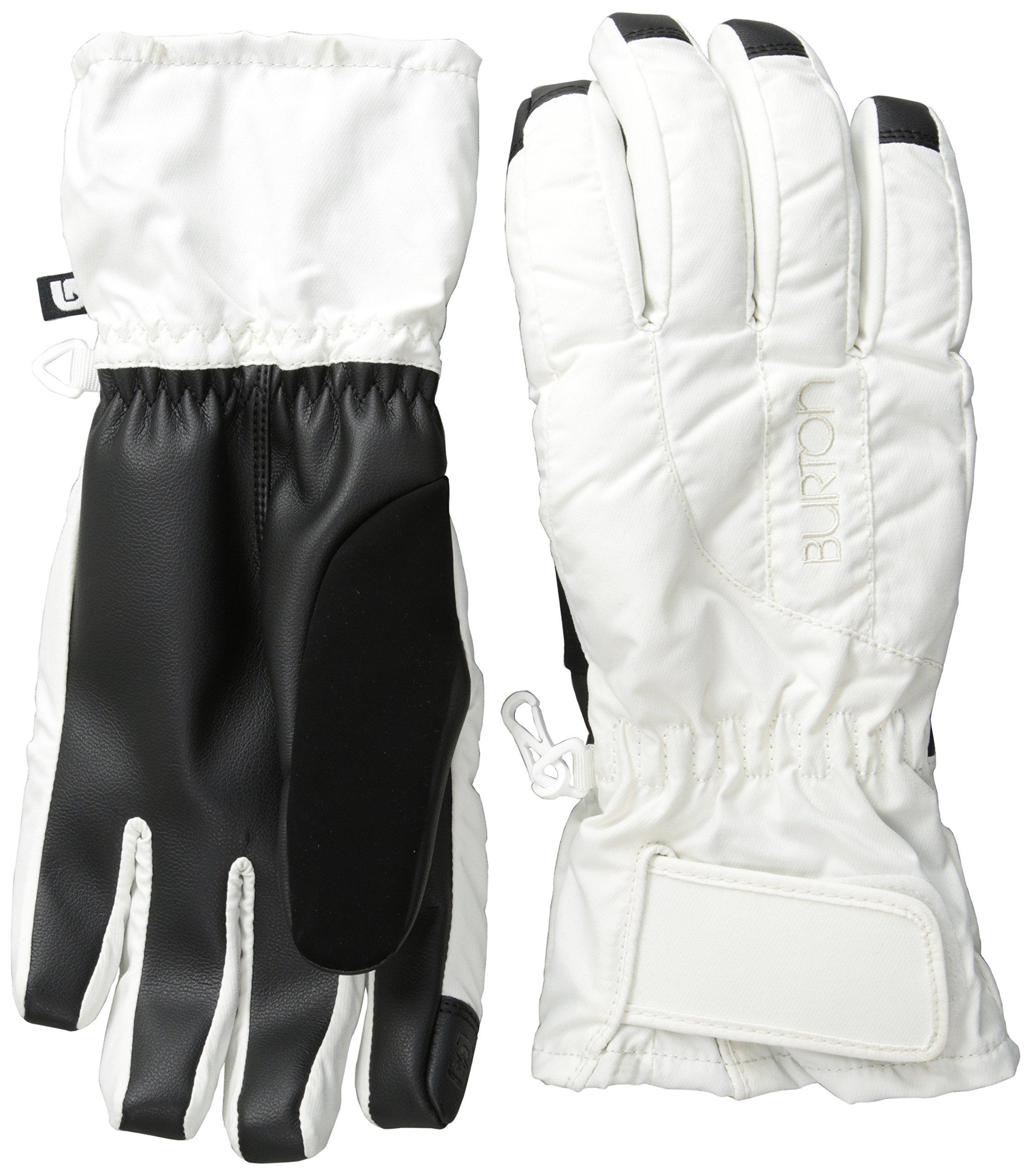 Burton Women's Profile Under Gloves, Stout White, Small