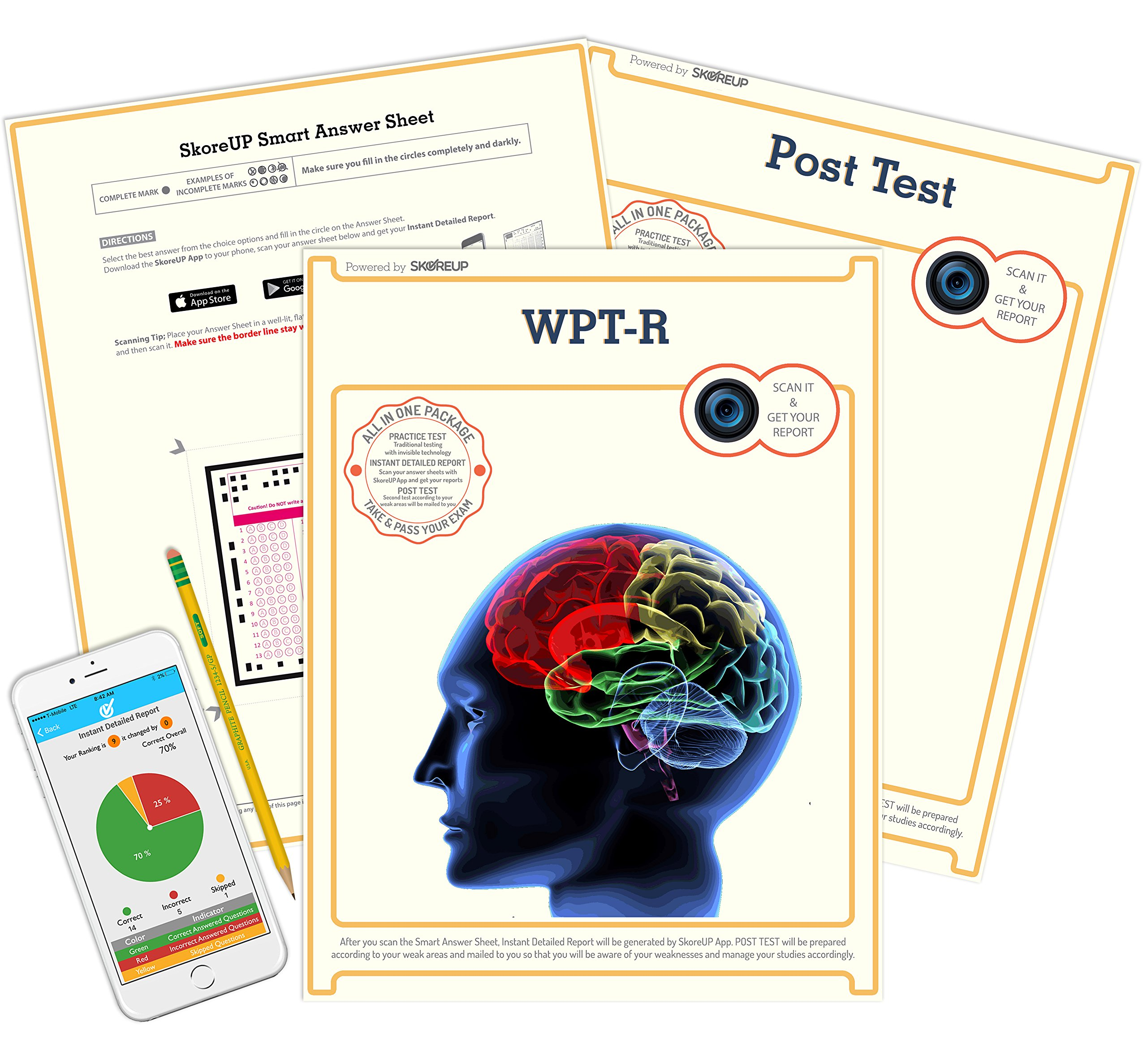 Amazon.com: Wonderlic Personnel WPT-R Exam, Test Prep, Study ...