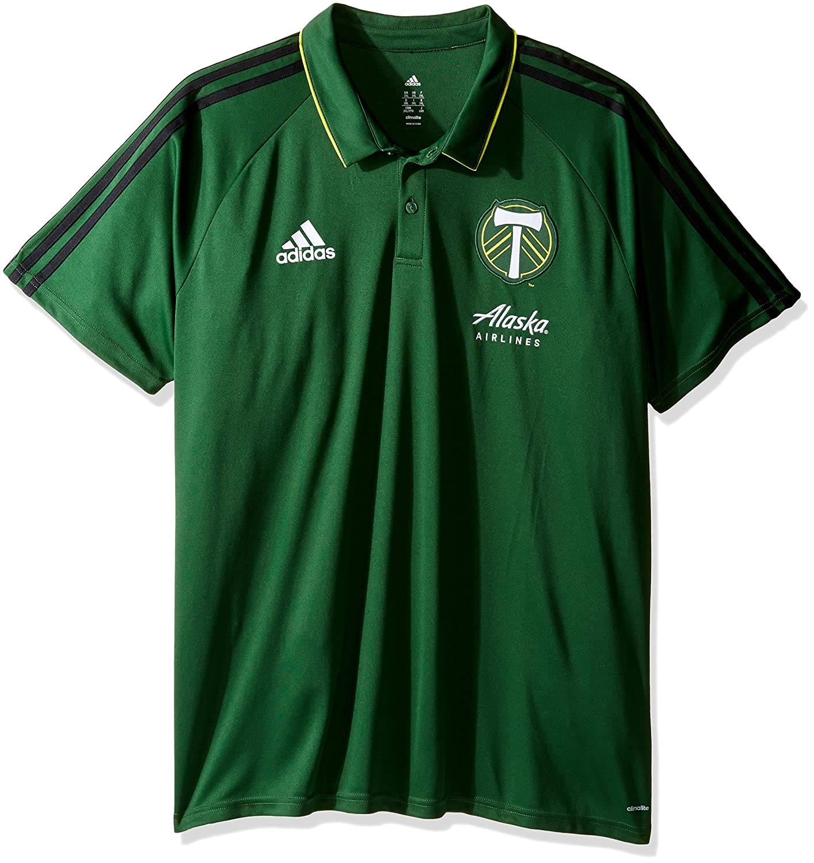 adidas MLS Men's Authentic Sideline Coaches Polo