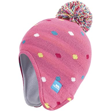 80cf3c481899 Trespass Queenie - Bonnet péruvien - Fille (2 4 ans) (Rose)  Amazon ...