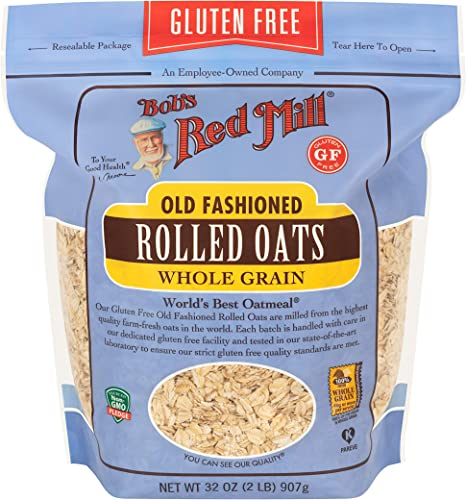 Bobs Red Mill Gluten Free Rolled Oats, 907gms- (Pack of 1): Buy Online at Best Price in UAE - Amazon.ae