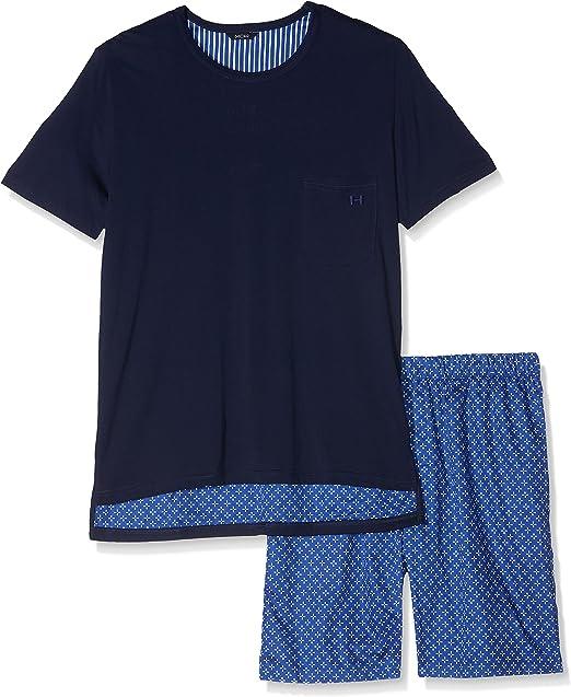 HOM Flowers Short Sleepwear Conjuntos de Pijama (Pack de 2) para Hombre: Amazon.es: Ropa y accesorios