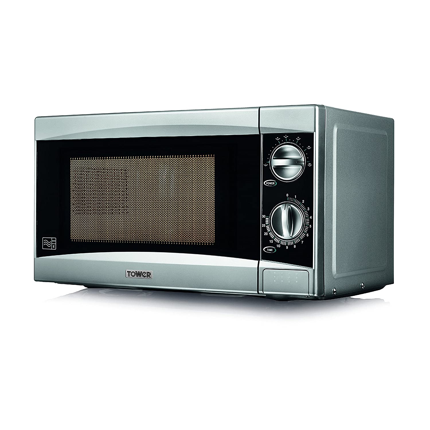 Aldi home sale catalogue special buys stirling 34l microwave oven - Tower T24001 Manual Microwave With Timer 20 L Silver