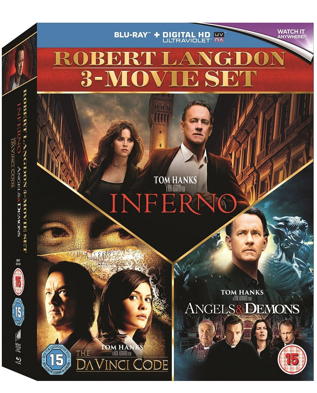 Amazon. Com: robert langdon 3-movie set (the da vinci code / angels.