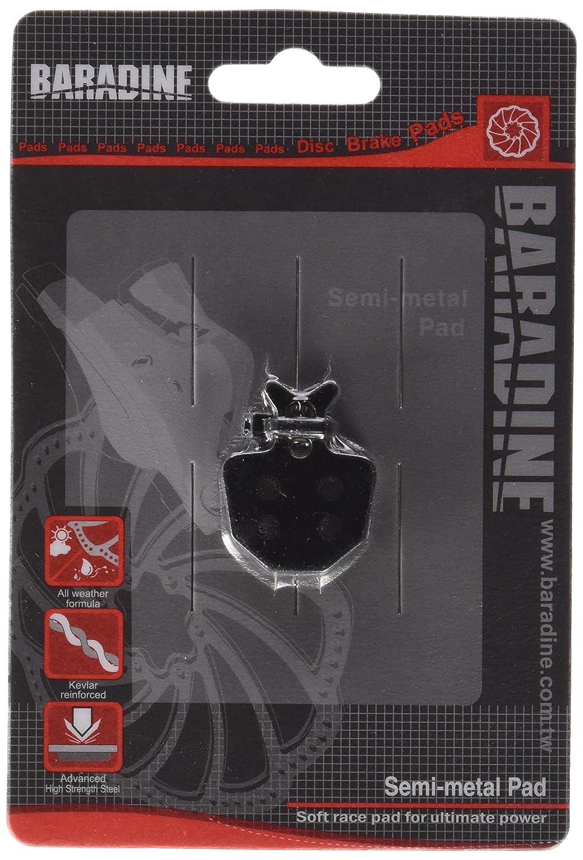 Talla /única Baradine DS-31 Pastillas Freno Disco Oro Unisex Adulto