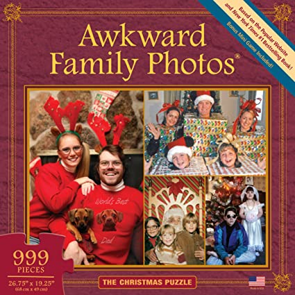 awkward family photos christmas puzzle - Awkward Family Christmas Photos