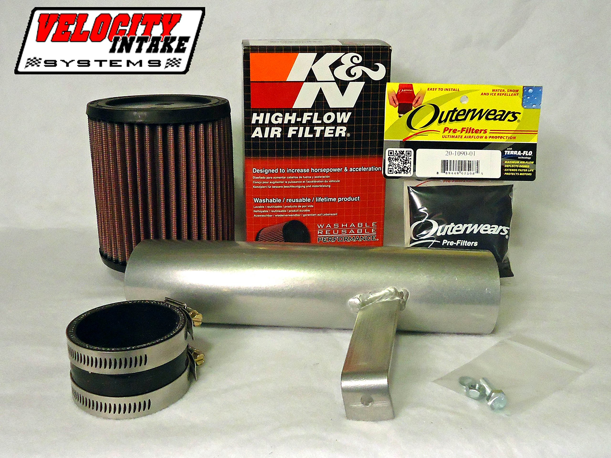Malone Motorsports VelI-H400-2 Honda 400ex 400X Velocity Intake System with K&N Filter by Velocity Intake Systems (Image #1)