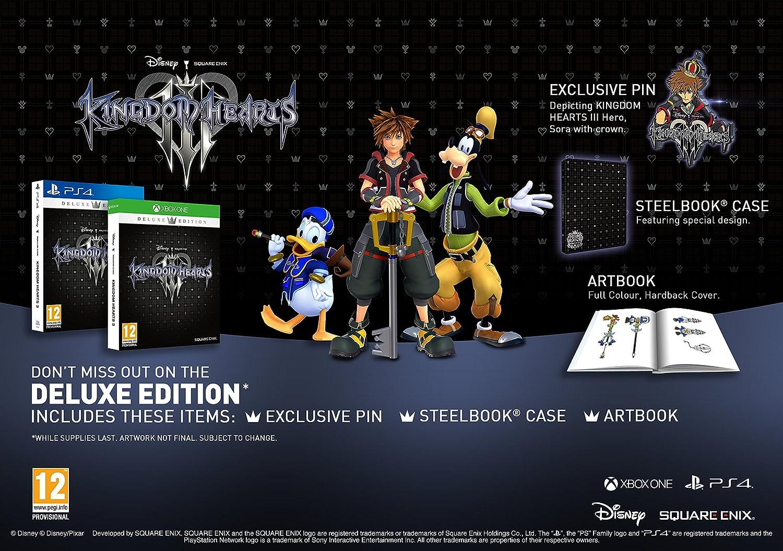 Kingdom Hearts 3 Deluxe Edition (PS4): Amazon co uk: PC
