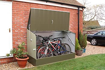 metal bicycle storage unit