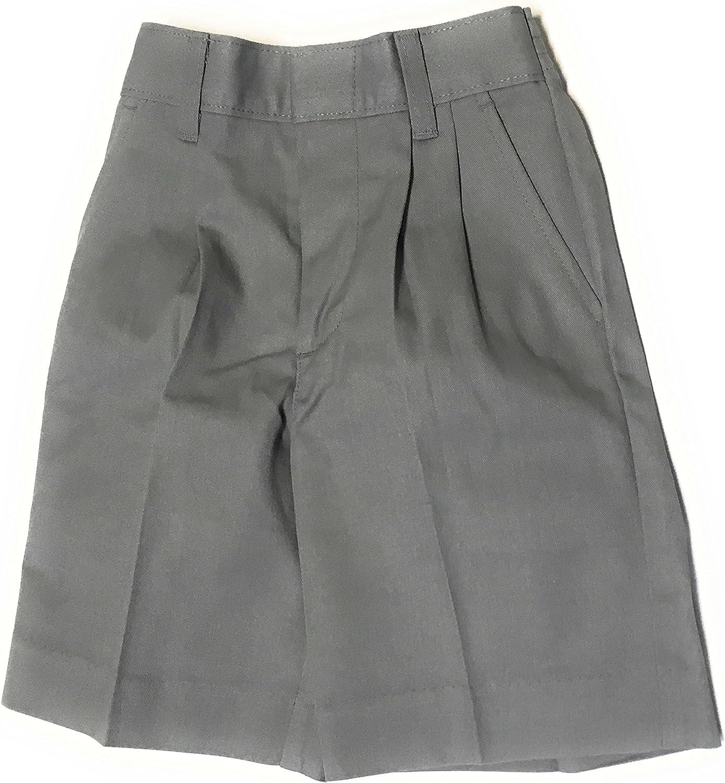 Elderwear Grey School Uniform Pleated Short