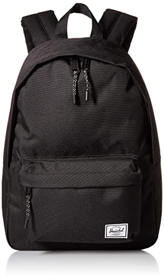 02c190f08d Herschel Classic Mid-Volume Backpack Black One Size