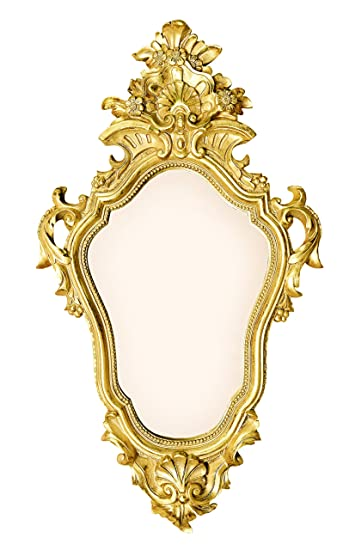 Buy Mirror from The Vanilla Vintage Gold Antique French Classic