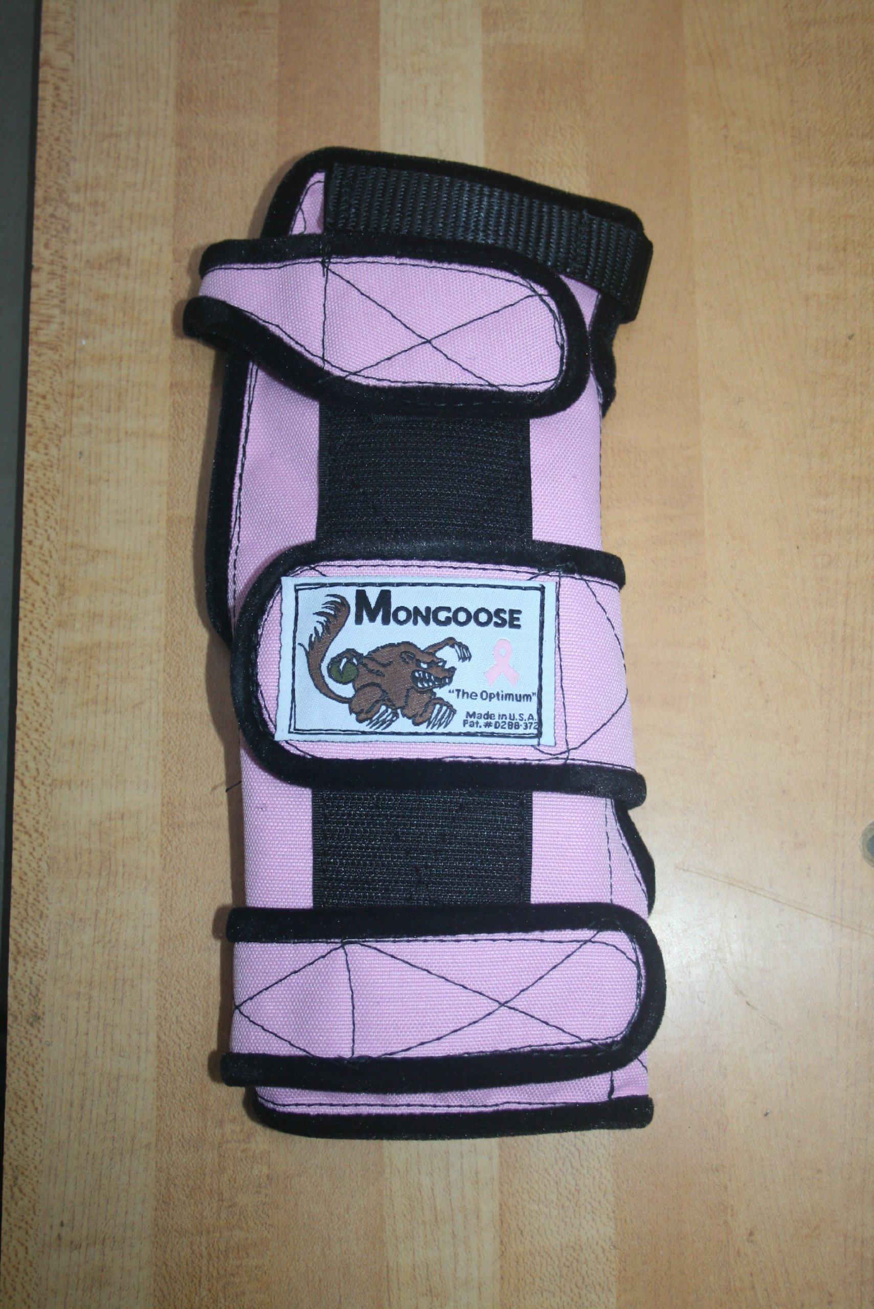 Mongoose ''Optimum bowling Wrist Support Left hand, Medium, Pink