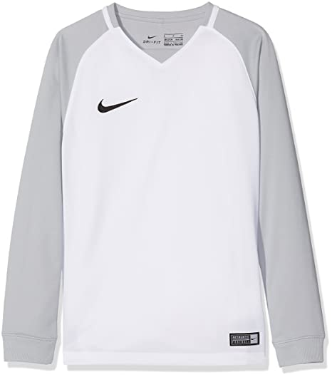 Nike Dry Team Trophy III Football Sudaderas, Niños, Blanco, XS