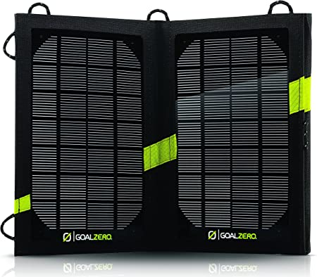 front facing goal zero nomad 7 portable solar charger
