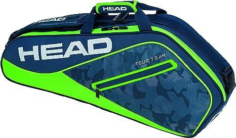 Head Tour Team 3R Pro Raqueta de Tenis Bolsa, Color Azul Marino y ...