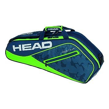 Head Tour Team 3R Pro Raqueta de Tenis Bolsa, Color Azul Marino y Verde, tamaño n/a: Amazon.es: Deportes y aire libre