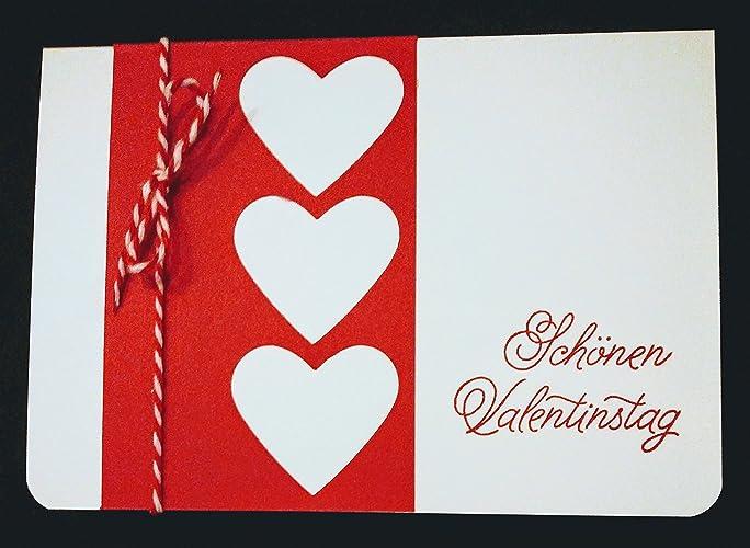 Grußkarte Schönen Valentinstag Stampin Up Amazonde Handmade