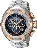 Invicta Men's 'Bolt' Quartz Stainless Steel Casual Watch, Color:Silver-Toned (Model: 21342)