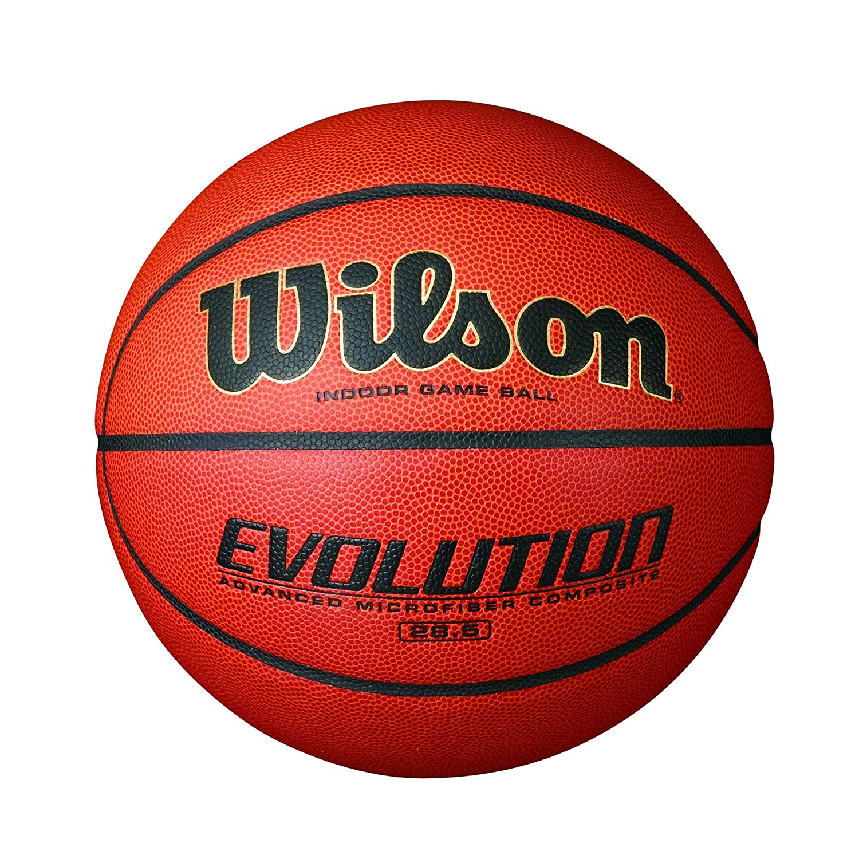 Wilson Evolution 屋内ゲームバスケットボール (認定整備済み) Intermediate - 28.5