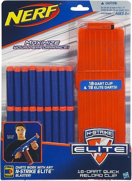 Strike Elite Dart Gun Magazines Cartridge Ammo 35,25,18,12,6 Shot Rounds NERF N