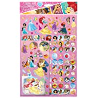 Carta progetti 810539Disney Princess Megapack stickers (confezione da 150)