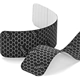 FlexU – Kinesiology Tape; Single Roll or Bulk Pack; (Pre-Cut or Continuous); Advanced Strength and Flexibility Properties; Longer Lasting Therapeutic Recovery; Sports Tape
