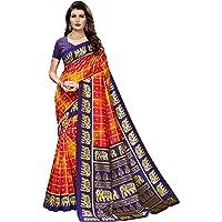 Anni Designer Women's Mysore Silk Printed Saree Border Tassels With Blouse Piece(WEDDING-ELEPHANT Colors_Free Size)