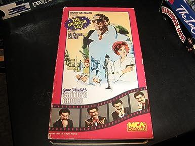 Amazon com: Ipcress File [VHS]: Michael Caine, Nigel Green
