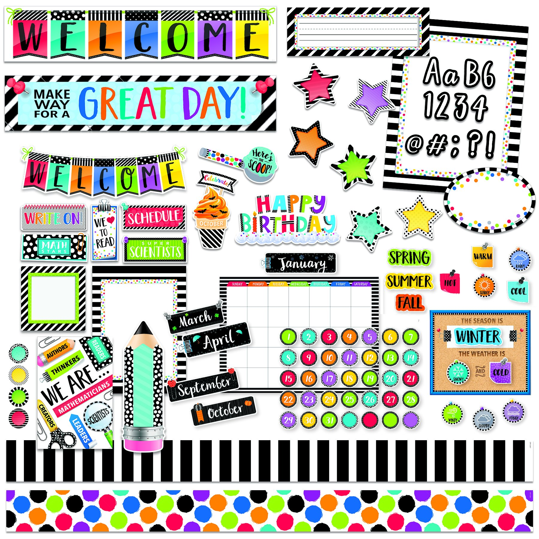 Creative Teaching Press Classroom Set Themed Classroom Displays and Decoration (8817)
