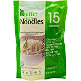 Better Than Noodles Certified Organic. Vegan, Gluten-Free, Non-GMO, Konjac Noodles 14 Ounces (6 Pack)