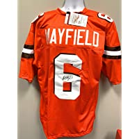$199 » Baker Mayfield Cleveland Browns Signed Autograph Custom Jersey JSA Witnessed Certified