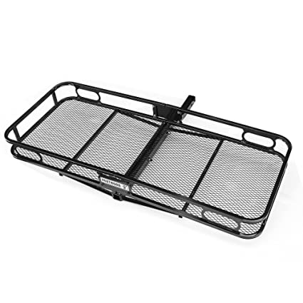 Trailer Hitch Luggage Rack Magnificent Amazon Pentagon Tools Trailer Hitch Hauler Rack For