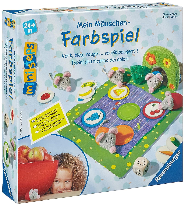 Ravensburger ministeps 04375 - Mein Mäuschen-Farbspiel: Amazon.de ...