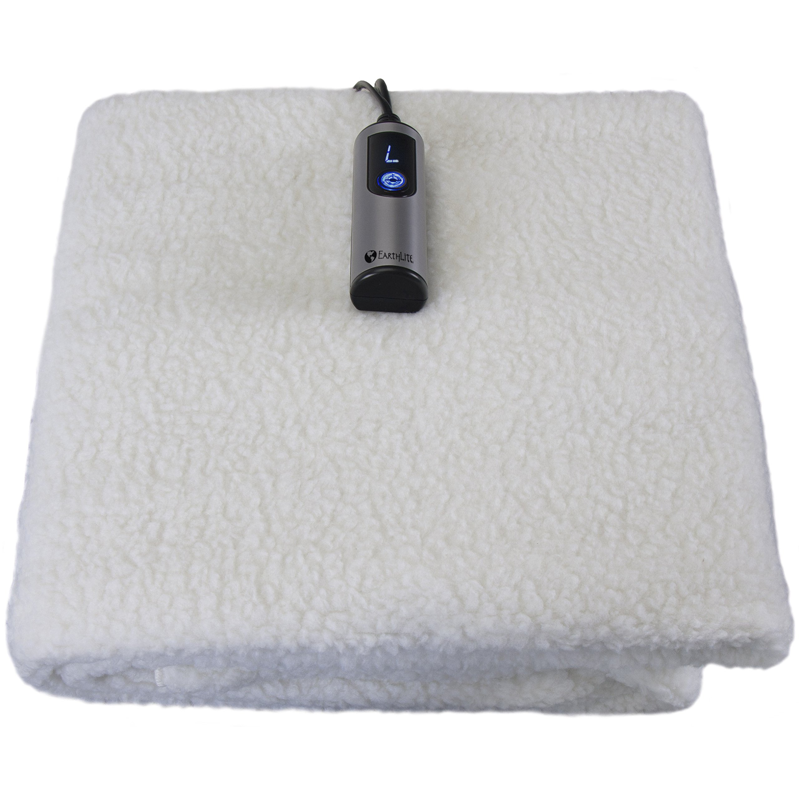 EARTHLITE Fleece Massage Table Warmer & Fleece Pad, 3 Heat Settings, 13ft Power Cord (Improved 2018 Model)