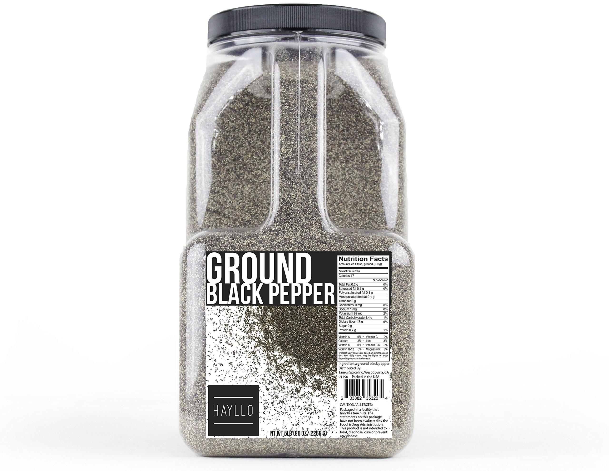 Hayllo Ground Black Pepper , 5 Pound by Hayllo (Image #3)