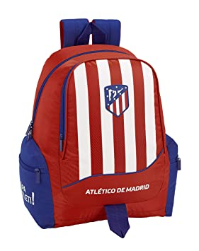 Atlético de Madrid Mochila Grande Adaptable a Carro, niño: Amazon.es: Equipaje
