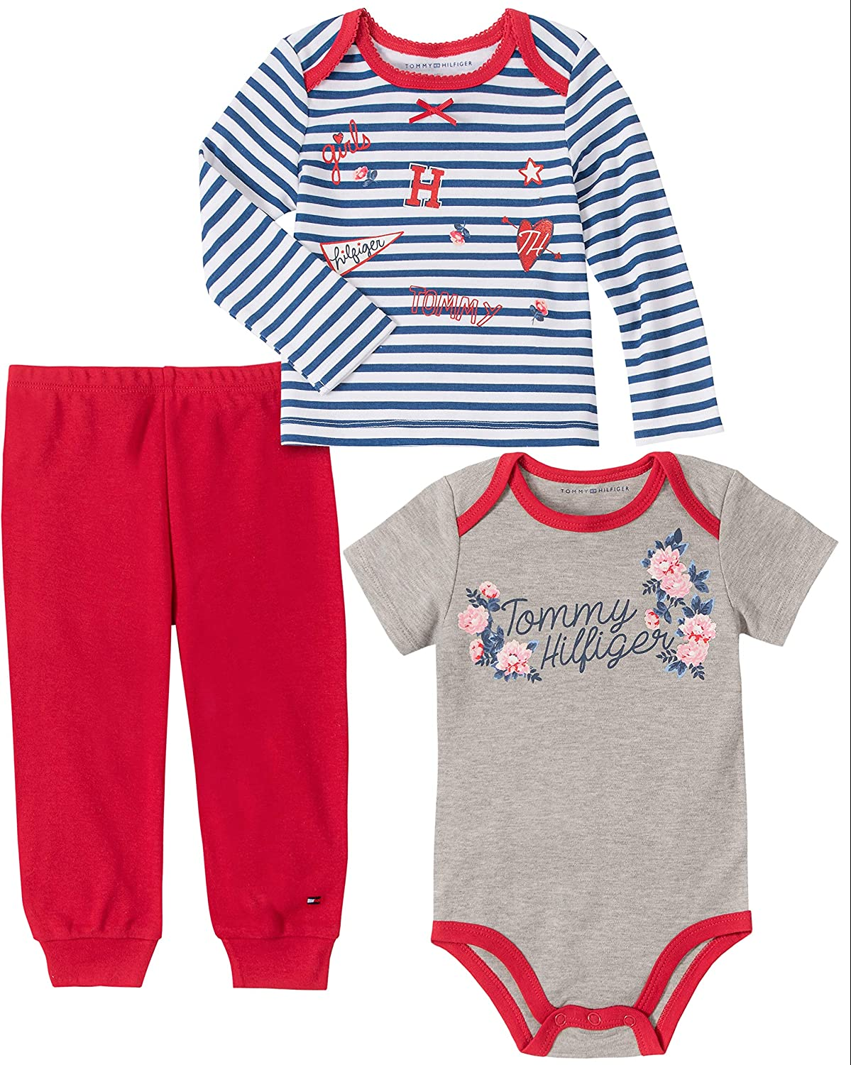 Tommy Hilfiger Baby Girls Active Pant